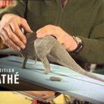 Wie 1967 Dinosaurier-Modelle für Stop Motion Filme gebaut wurden