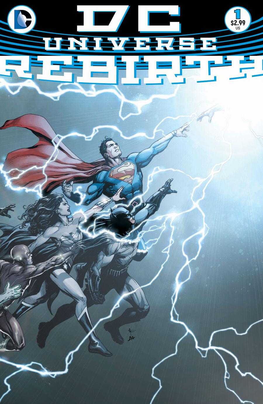 Happy Rebirth-Day, DC Comics!
