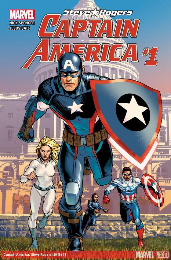 Was sagt eigentlich Chris Evans dazu, dass Captain America nun ein Hydra-Nazi ist?