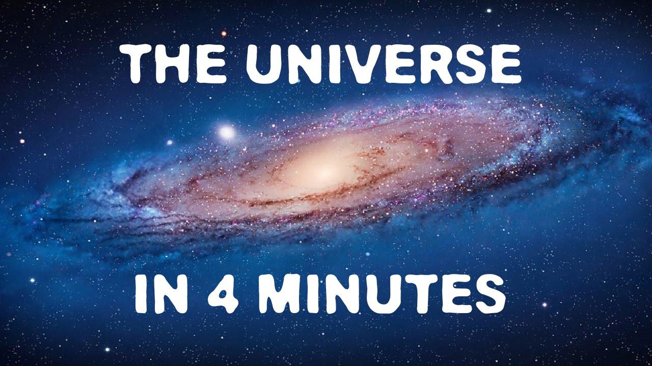 Alles, was es im Universum gibt, vorgestellt in 4 Minuten