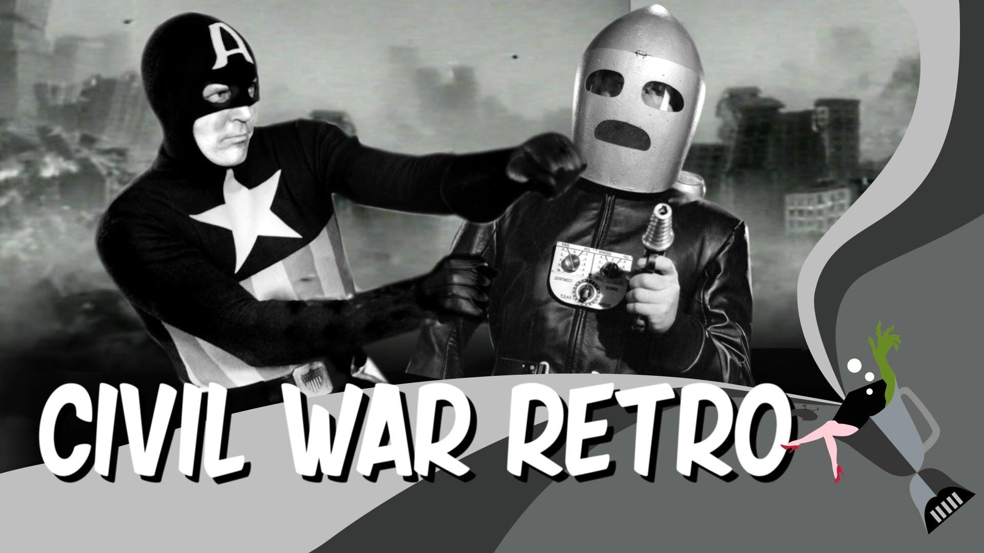 """""""Captain America: Civil War"""" wie von Ed Wood"""