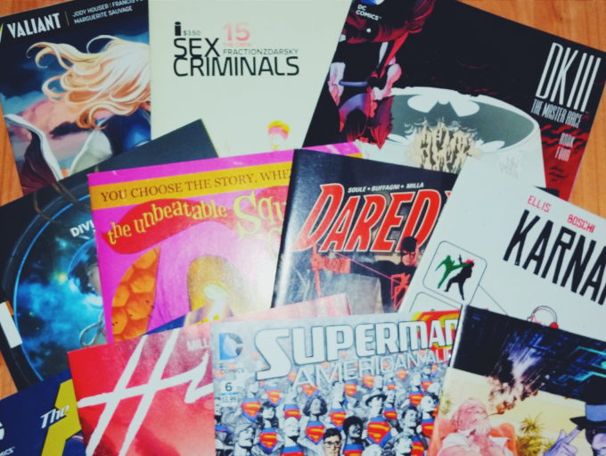 comic haul april 2016