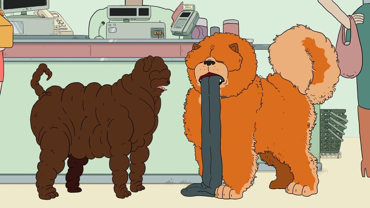 """Der animierte Kurzfilm """"HOUND"""" zeigt uns surrale Szenen mit surrealen Hunden"""