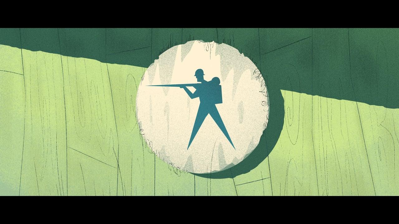 """Im animierten Kurzfilm """"Grounded"""" muss ein einsamer Soldat seinen Posten verteidigen"""