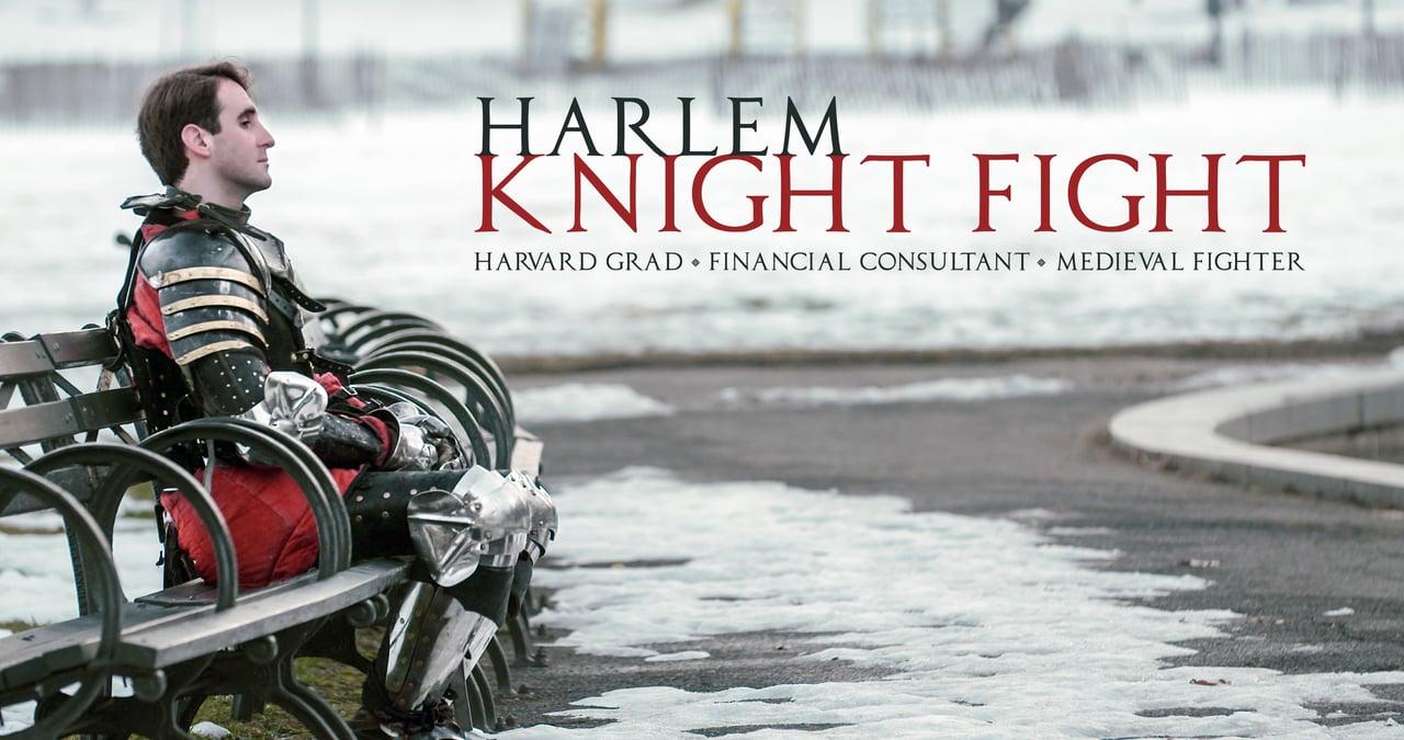In Harlem stecken sie sich in Ritterrüstungen, prügeln mit Waffen auf sich ein und nennen es Sport
