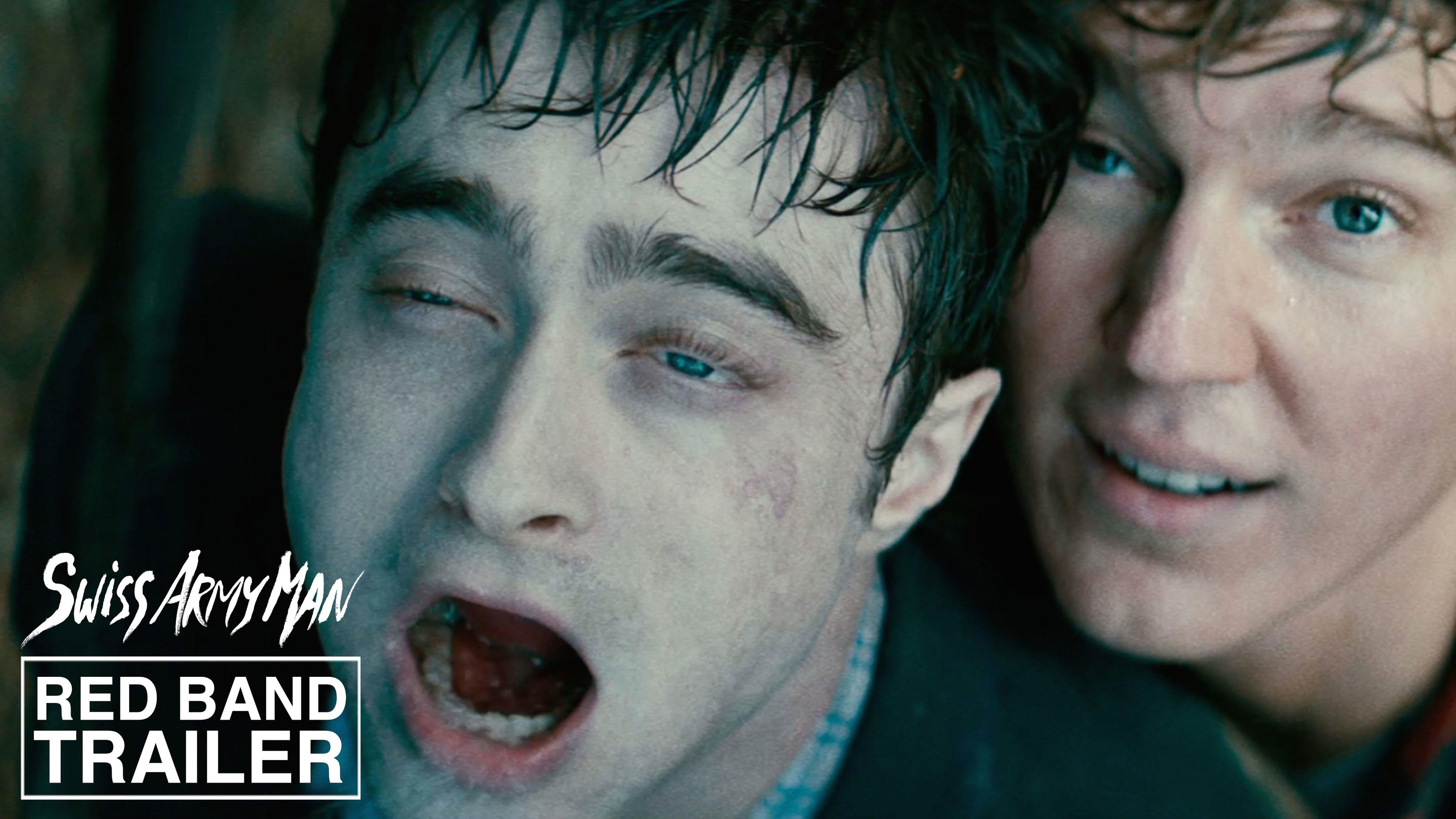 """In """"Swiss Army Man"""" spielt Daniel Radcliffe eine Leiche mit Superkräften und einem magischen Ständer"""