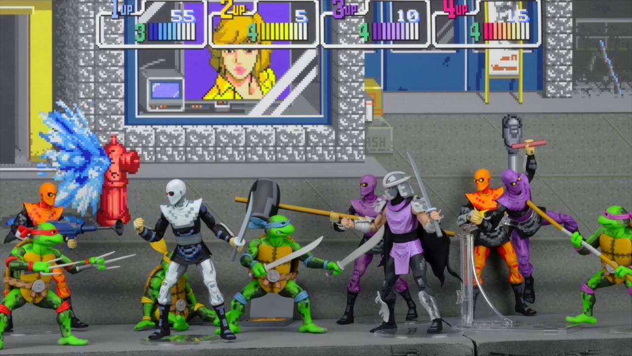 """NECA veröffentlicht wunderschöne """"Teenage Mutant Ninja Turtles""""-Actionfiguren, die direkt aus einem Videospiel stammen könnten"""