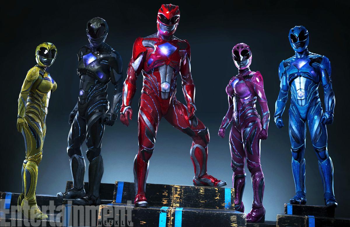 """""""Power Rangers"""": Die neuen Filmkostüme sind nur ein bisschen hässlich"""