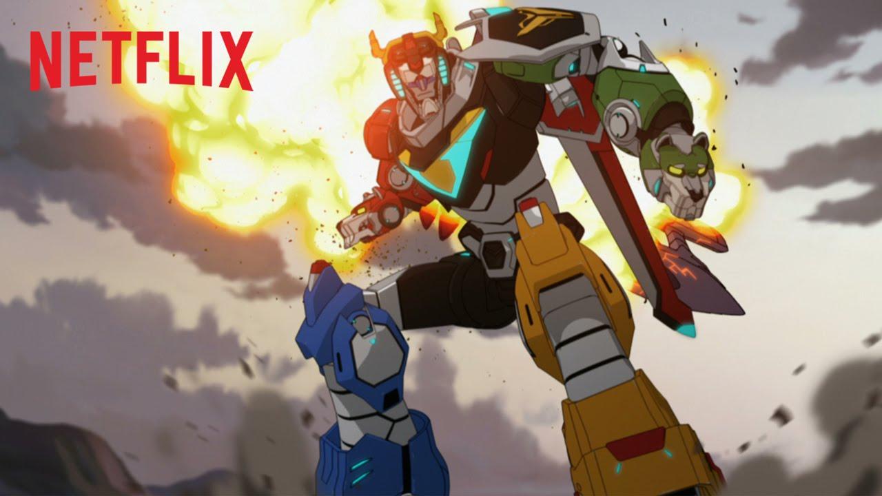 """Vielleicht ist """"Voltron"""" von Netflix ja doch der übliche Anime-Unsinn"""
