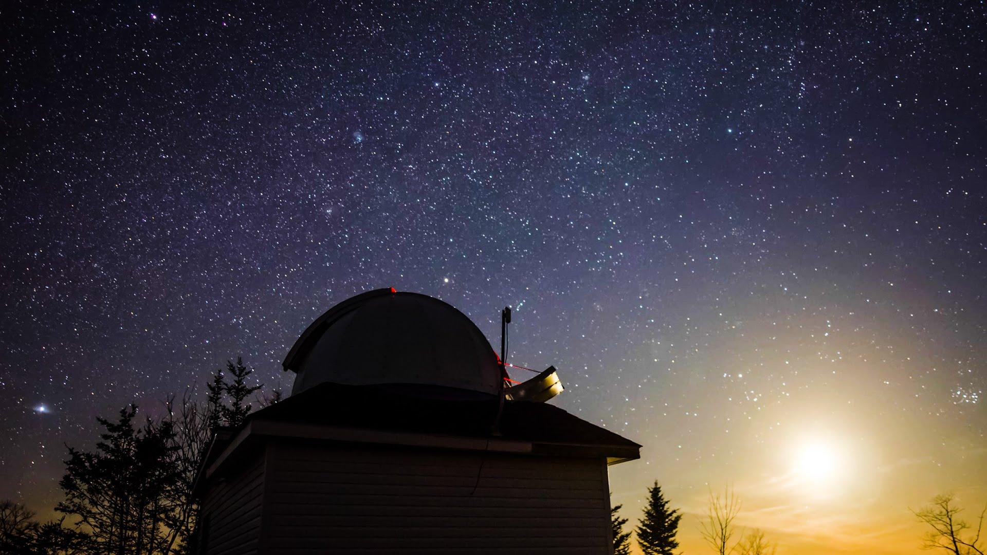 Der blinde Astronom, der die Milchstraße sah