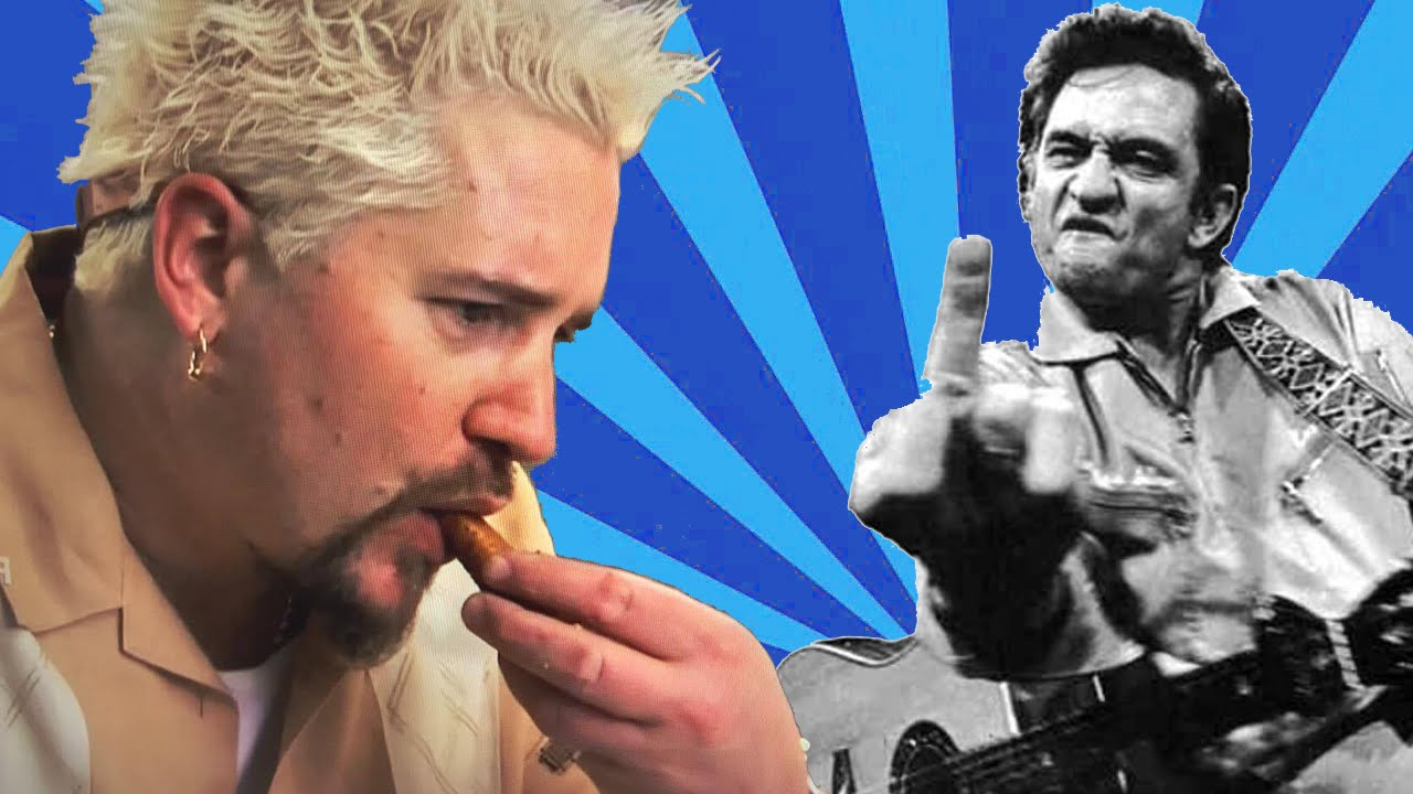 "Guy Fieri isst zu ""Hurt"" von Johnny Cash"