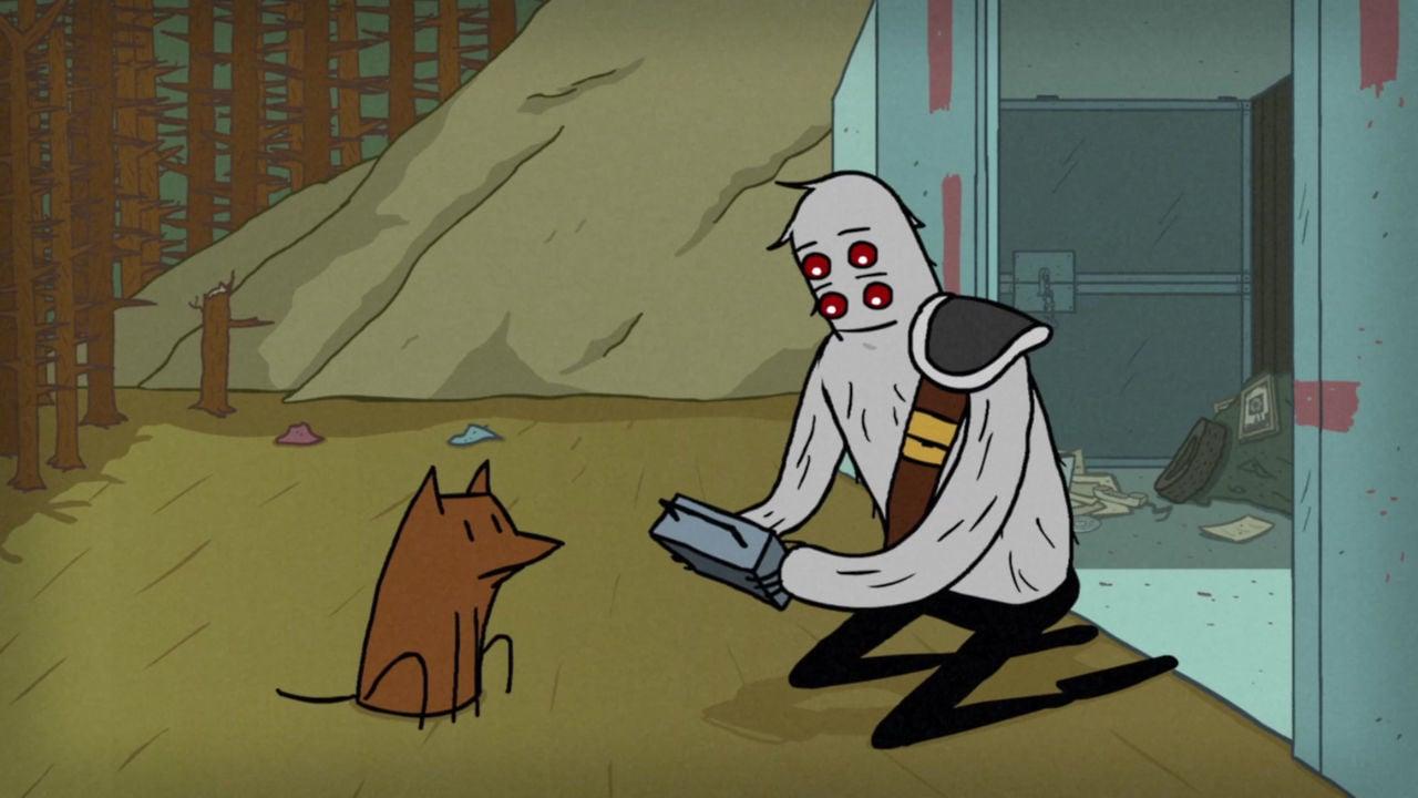 """Im Kurzfilm """"Transmission"""" sucht ein freundlicher Mutant nach Überlebenden im postapokalyptischen Wasteland"""