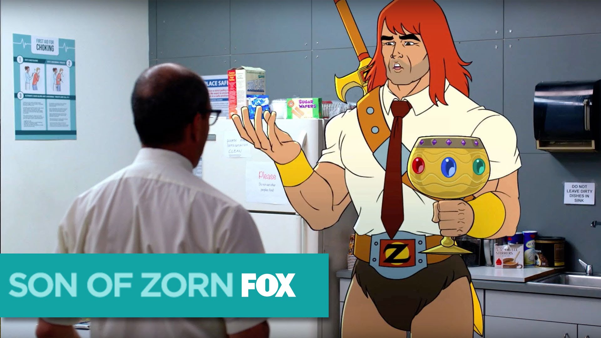 """Im Serientrailer """"SON OF ZORN"""" will ein animierter Mega-Held zurück ins richtig echte Leben"""