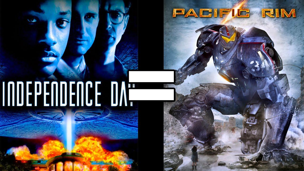 """Offenbar sind """"Independence Day"""" und """"Pacific Rim"""" der gleiche Film"""