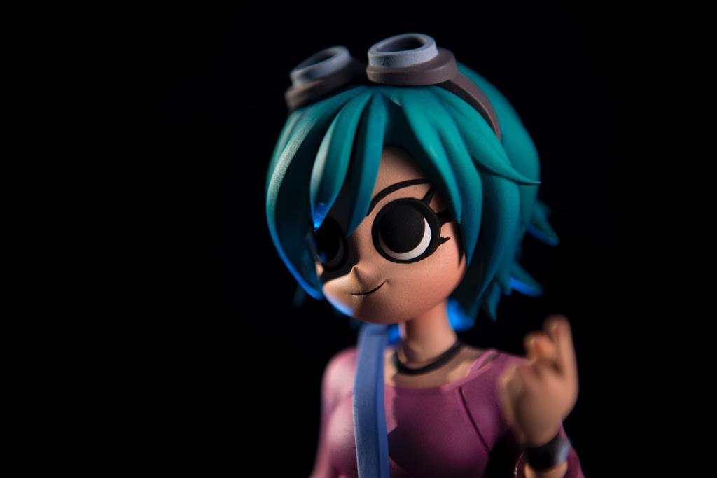 Mondo veröffentlicht heute eine Ramona Flowers Figur, für die man schon mal ein paar Evil Exes verkloppen kann
