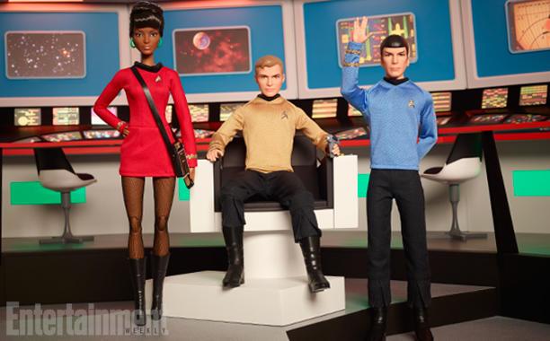 "Wir sind komplett, denn es gibt nun ""Star Trek""-Barbies"