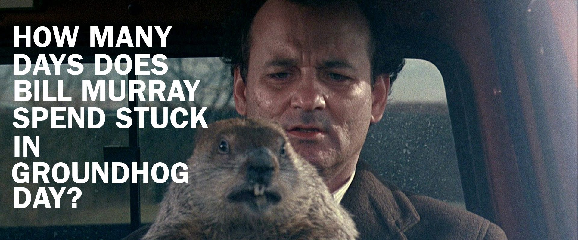 "Wie lange steckte Bill Murray nun im ""Groundhog Day"" fest?"