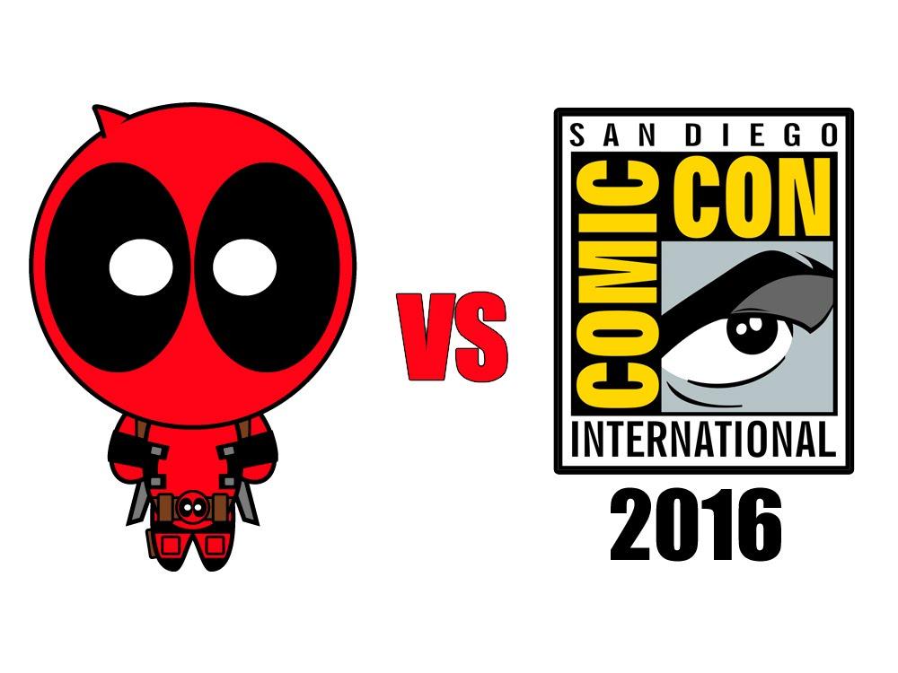 Deadpool vs. San Diego Comic-Con 2016