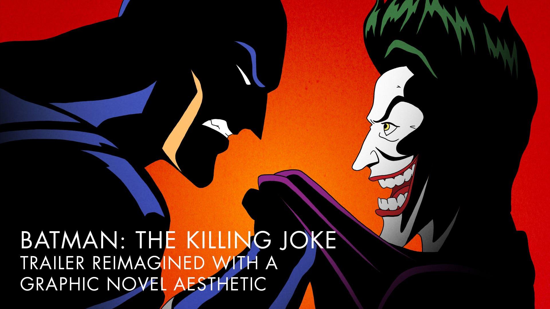 "Der Trailer zu ""Batman – The Killing Joke"" im Stil des Comics"