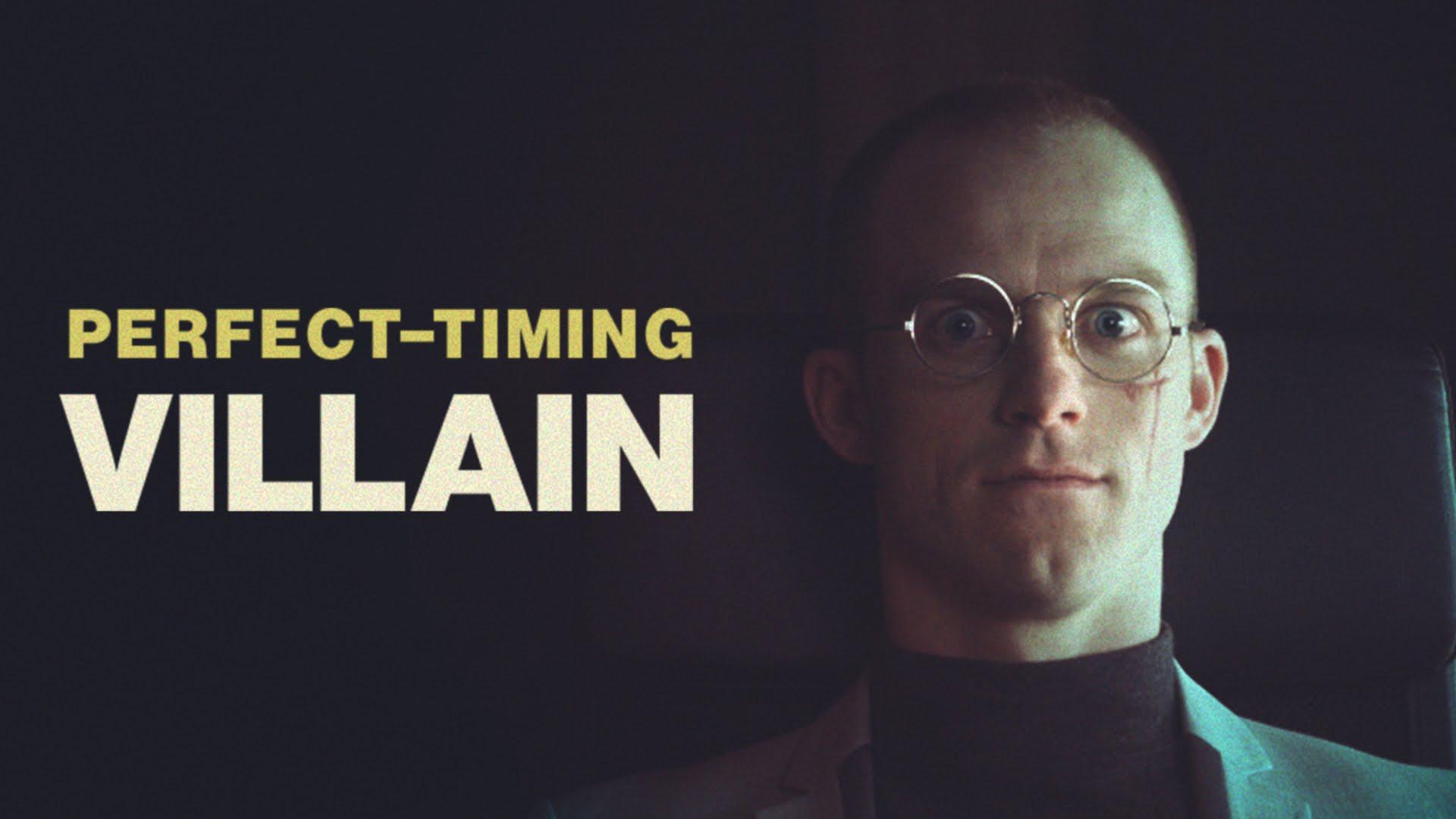 Ein Sketch erklärt uns, wie wichtig ein gutes Timing für einen Superschurken ist