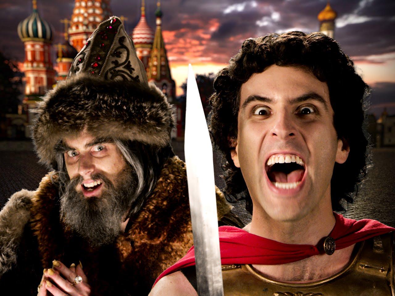 EPIC RAP BATTLES OF HISTORY: Alexander der Große vs. Ivan der Schreckliche