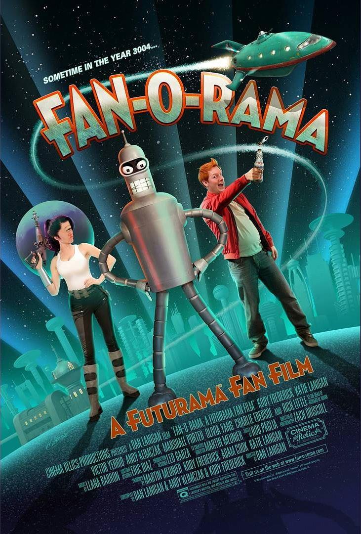 """Fan-O-Rama"" ist ein Live-Action-Futurama-Fanfilm, der so so so gut aussieht! SO GUT!"