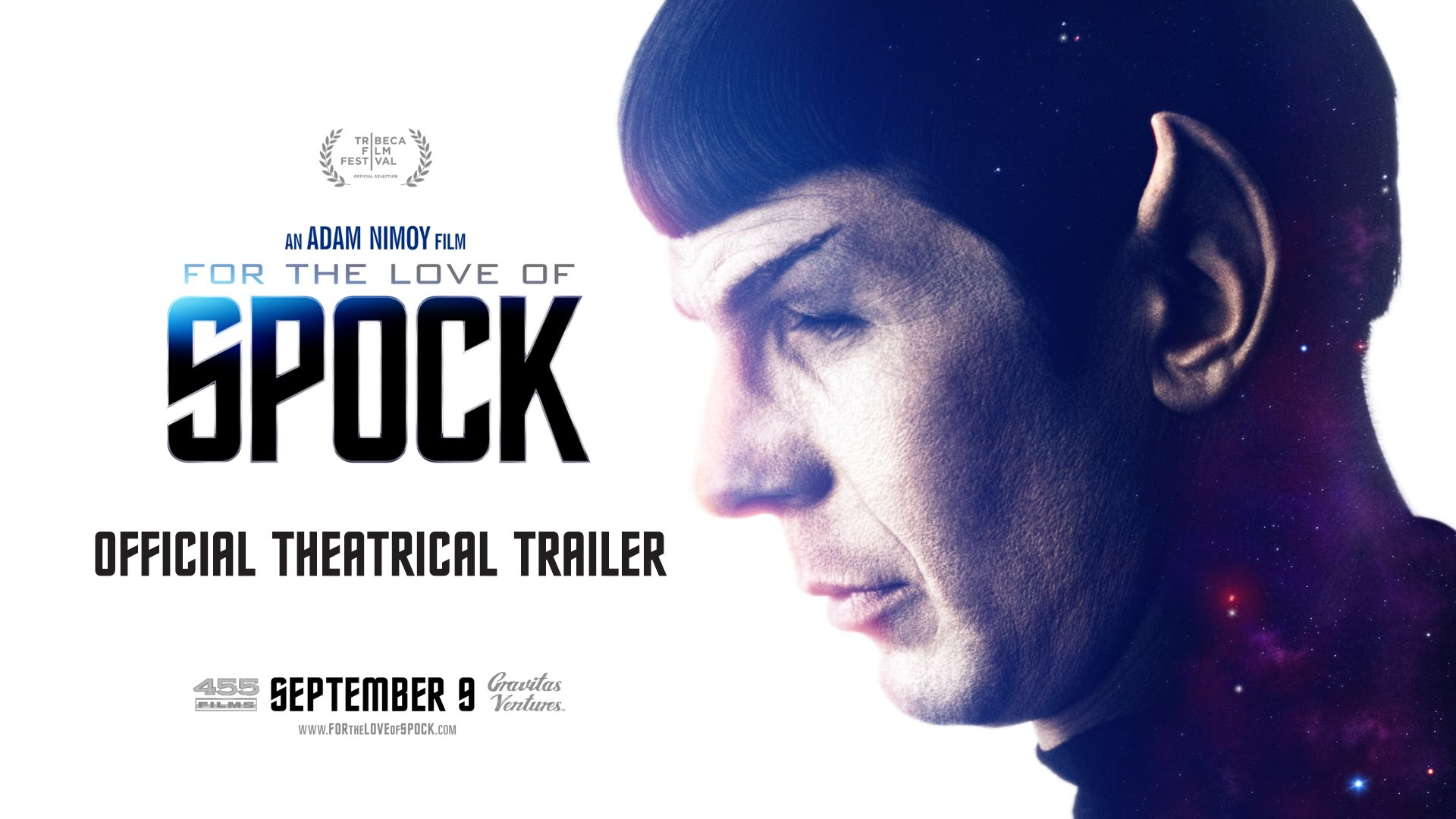 """""""For the Love of Spock"""" – Die Dokumentation über Leonard Nimoy bekommt einen ersten Trailer"""