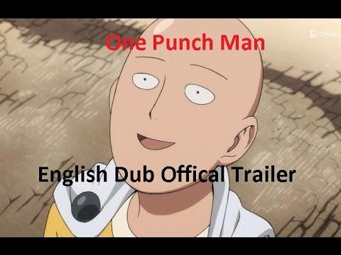 """Ihr solltet den Anime """"One Punch Man"""" schauen und ihr könnt es bald auf Englisch tun, aber das ist egal"""