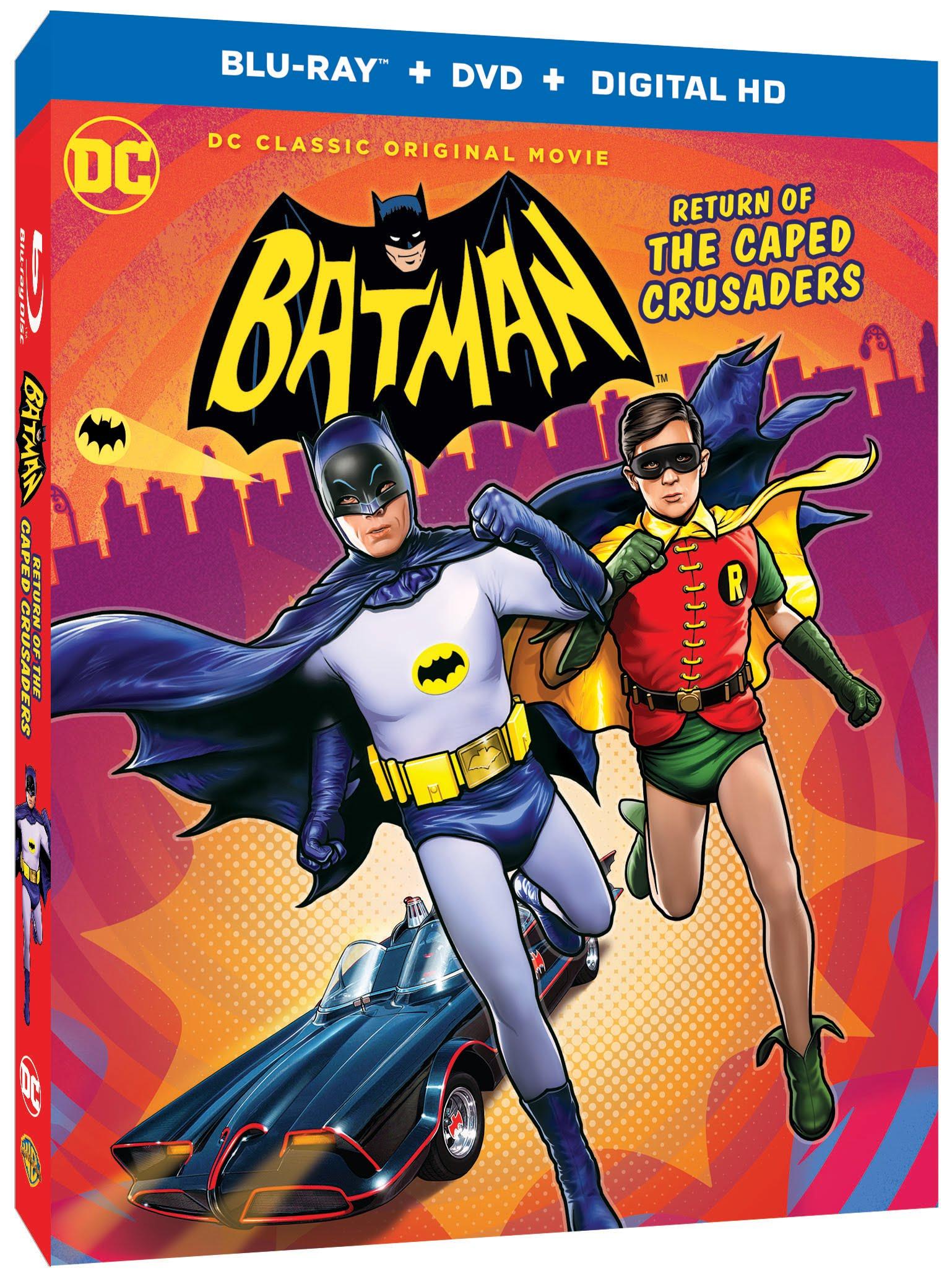 """""""Batman: The Caped Crusader"""", der Animationsfilm zum 60s-Batman, hat einen richtigen Trailer"""