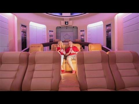 Eine kurze Tour durch ein $1.5 Millionen teures Star-Trek-Heimkino, in dem ich gerne sterben würde