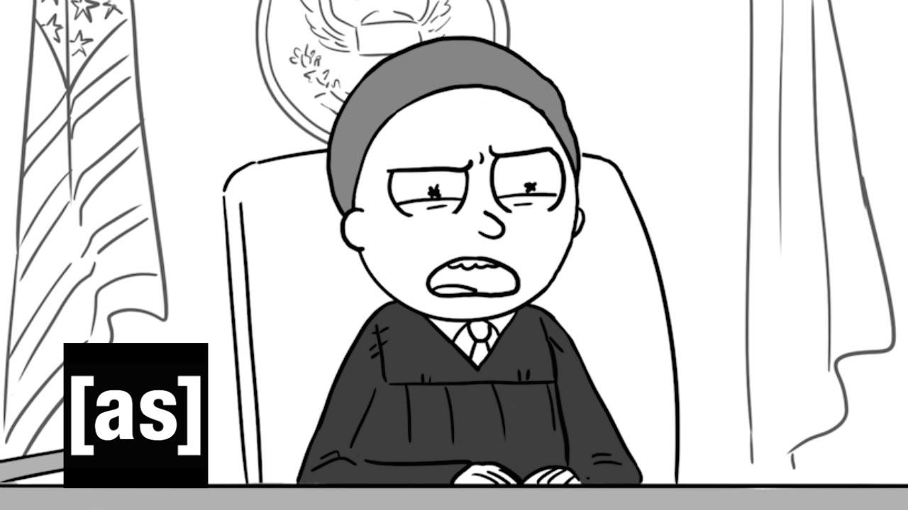 """""""Rick and Morty"""" spielen Wort für Wort einen sehr bizarren Gerichtsfall nach"""