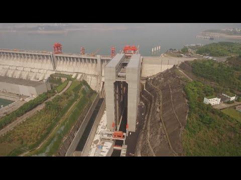 China hat nun der Welt größtes Schiffshebewerk gebaut