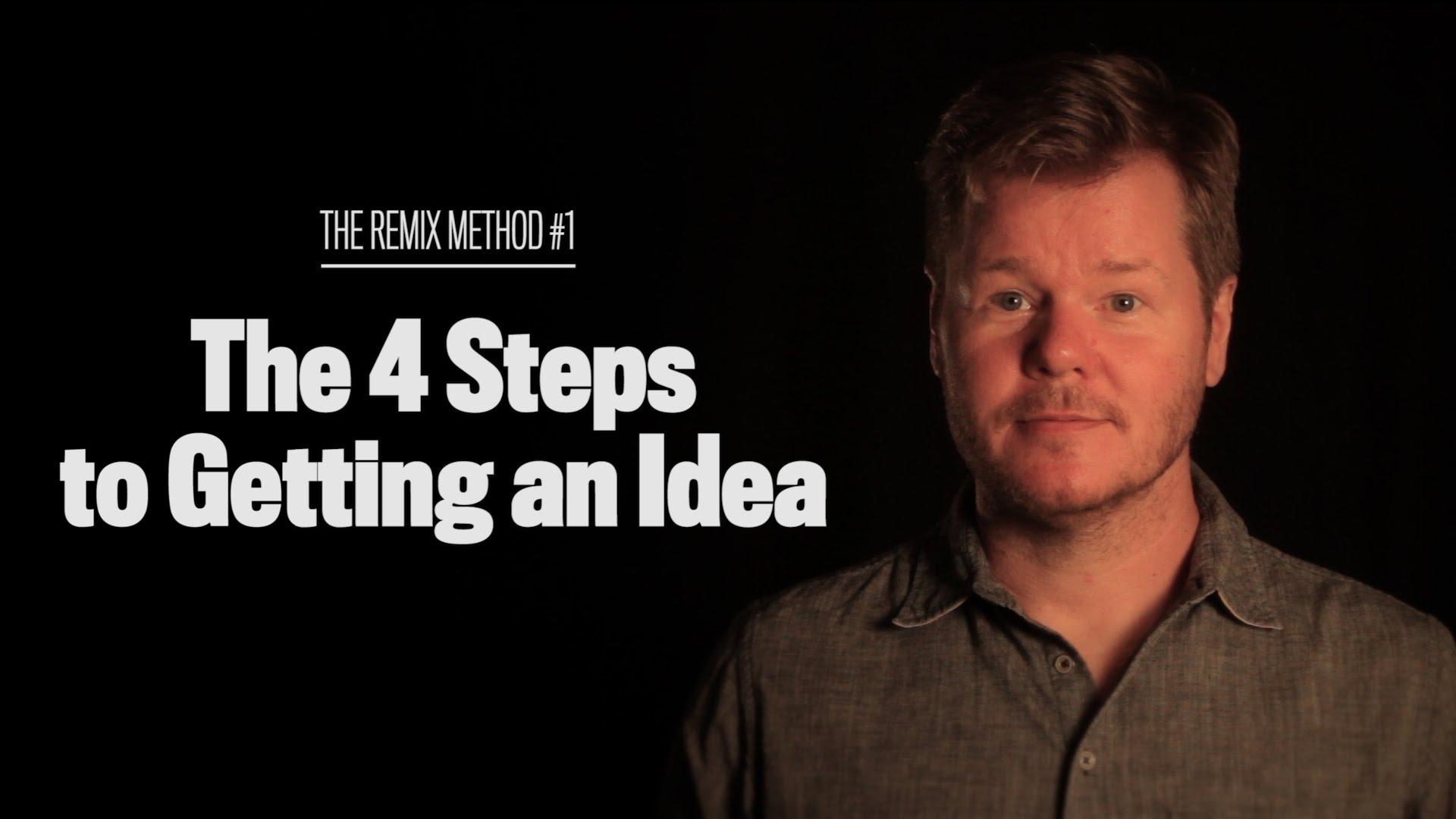 In vier einfachen Schritten zur neuen Idee