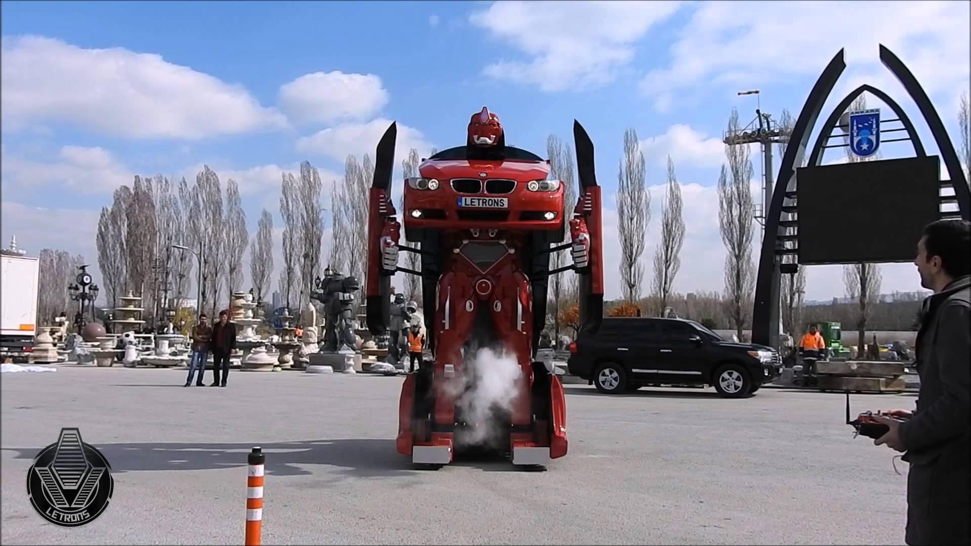 """""""Letrons"""" ist der erste richtig echte Transformer, der sich vom Auto in einen Roboter verwandeln kann"""