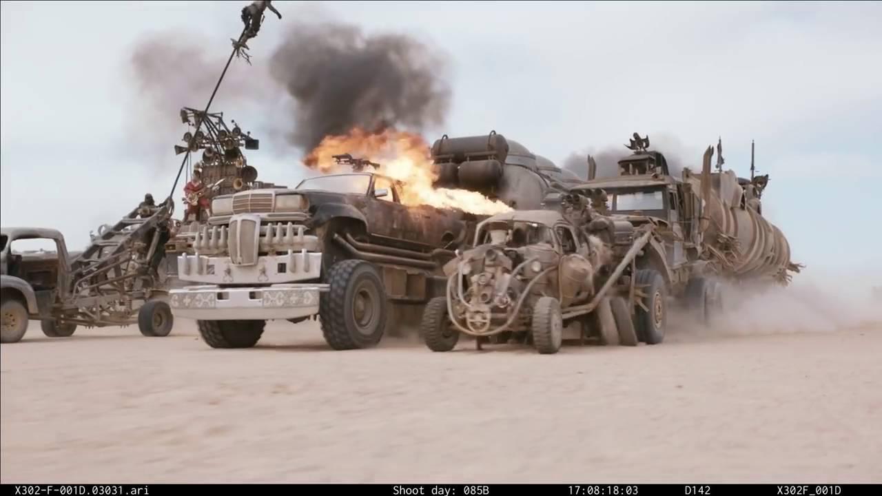 """Mad Max: Fury Road"" ohne Special Effects ist einfach völlig irre!"