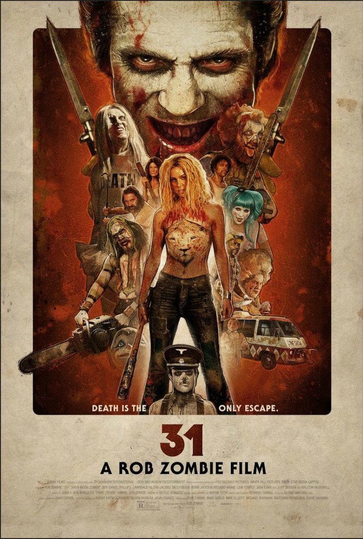 """""""31"""", der neue Horrorfilm von Rob Zombie, hat einen neuen, blutigen Trailer (NSFW)"""