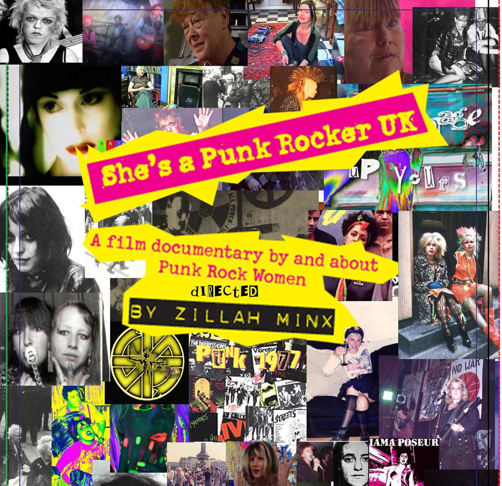 """""""SHE'S A PUNK ROCKER UK"""" – Eine Dokumentation von und über Punk Rock Women"""