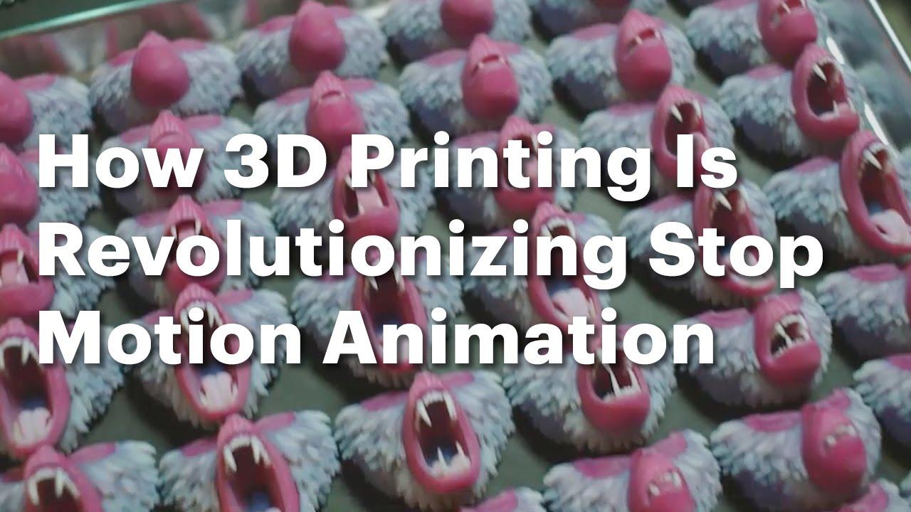 Wie 3D Printing Stop Motion revolutioniert hat