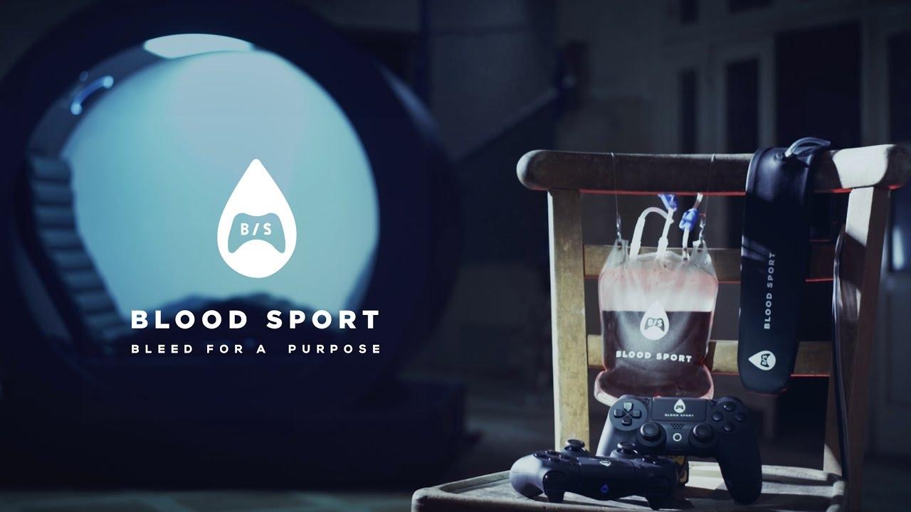 Blood Sport – eine Spielekonsole, die dir Blut abzapft, wenn du verlierst