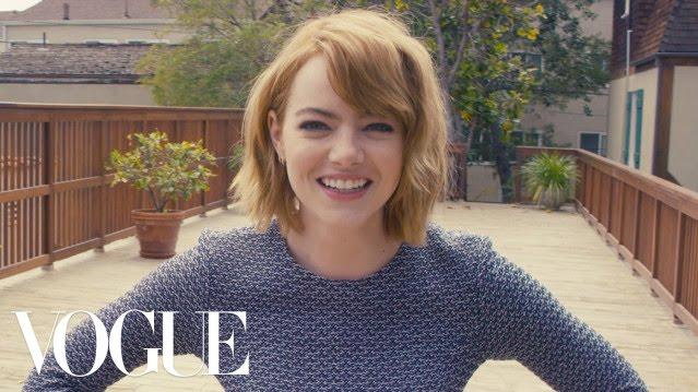 Das Vouge Magazine stellt Emma Stone 73 Fragen