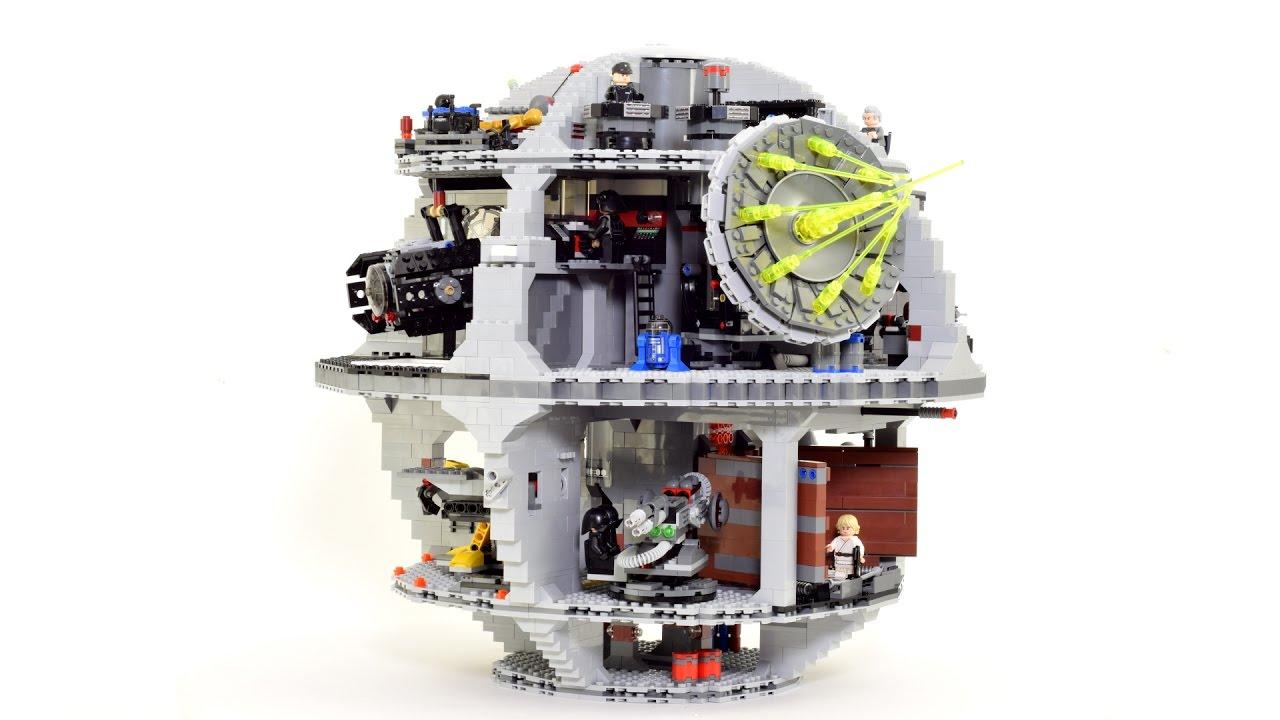 Der LEGO Todesstern, gebaut in Stop Motion und echt hübsch
