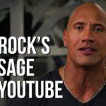 Dwayne Johnson reagiert auf das erste WWE-Match von The Rock vor 20 Jahren