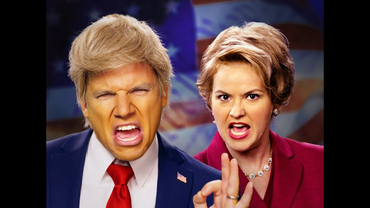 EPIC RAP BATTLES OF HISTORY: Donald Trump vs. Hillary Clinton