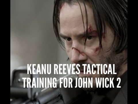 "Keanu Reeves trainert für ""John Wick: Chapter 2"""