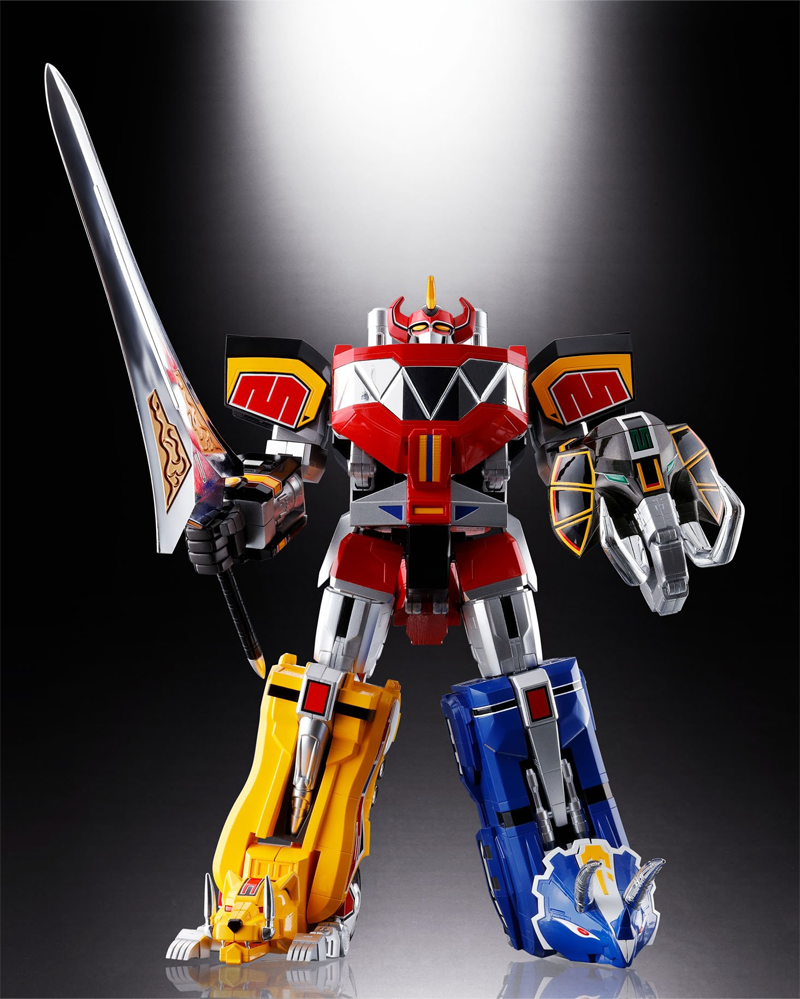 Der Megazord der Power Rangers als unglaublich schönes Toy
