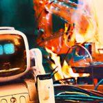 """""""Robots Programmed to Kill!"""" ist ein kleiner Kurzfilm über einen Spielzeugroboter"""