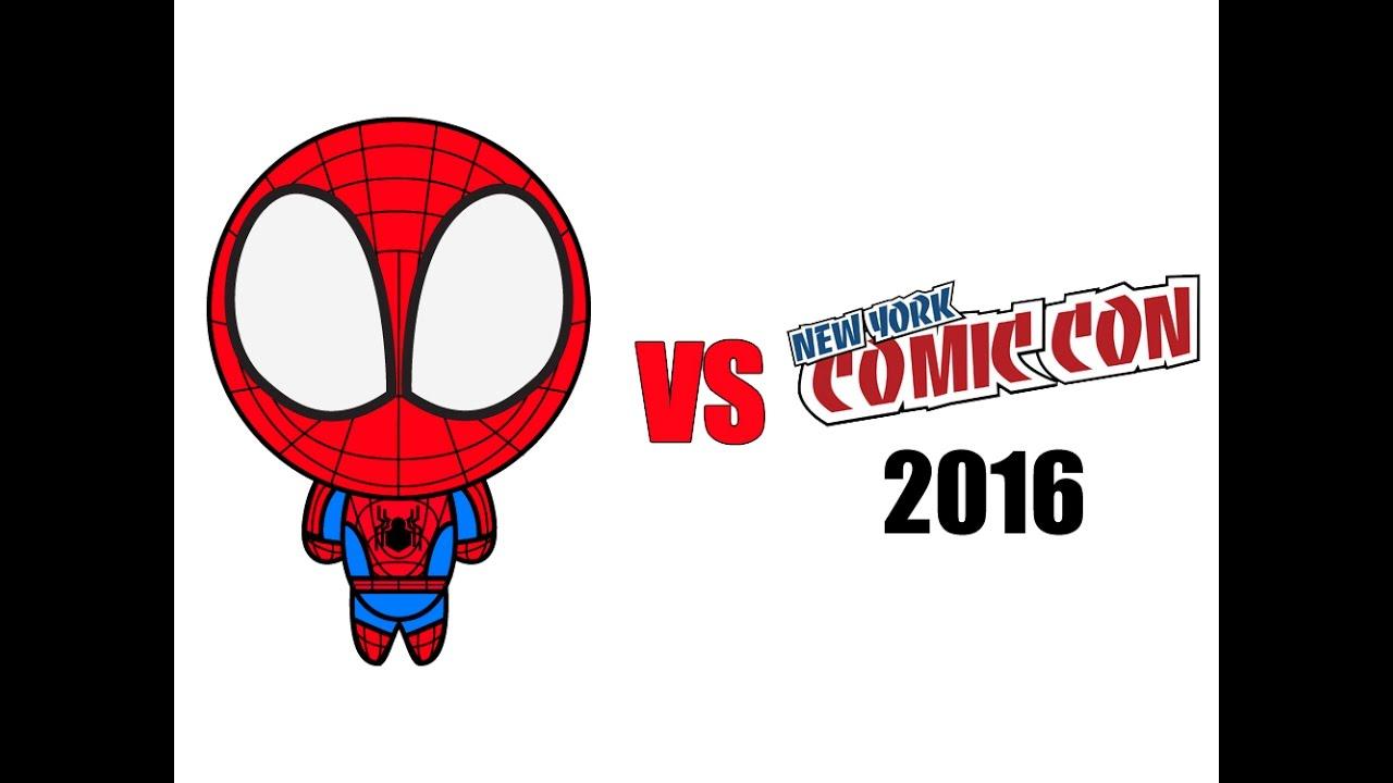 Spider-Man vs. New York Comic Con 2016