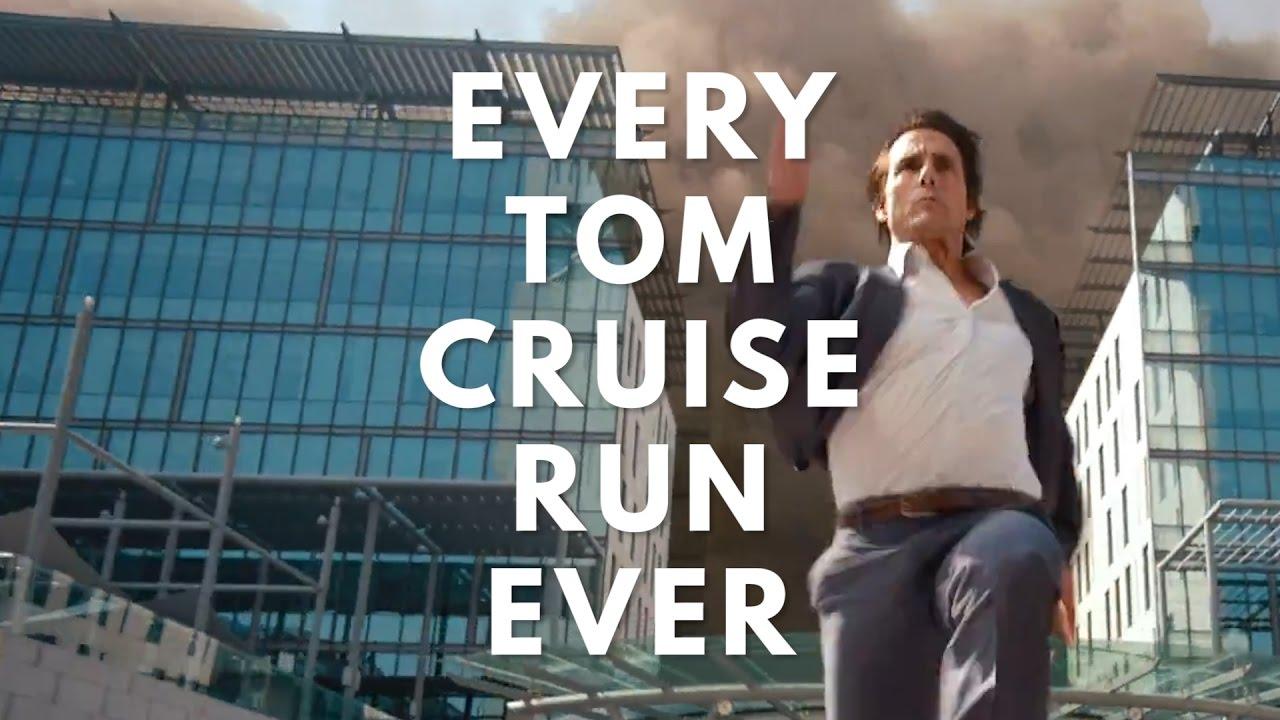 Tom Cruise rennt