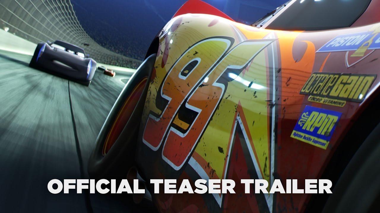 """Der erste Teaser zu """"Cars 3"""" ist überraschend düster"""