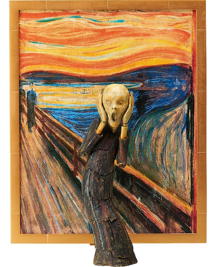 """""""Der Schrei"""" von Edvard Munch als Actionfigur"""